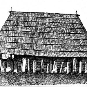4 Crkva brvnara u cecoj reci kod kosijerica iygled sa juga