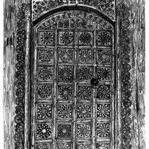 5. Crkva brvnara u Secoj Reci, zapadna vrata