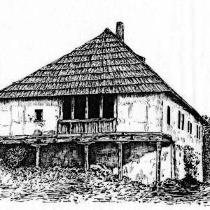 8. Konak serdara Jovana Micica u Cajetini srusena  gradjevina