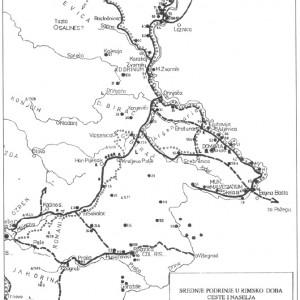 karta rimski put