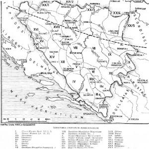 rimska bosna karta