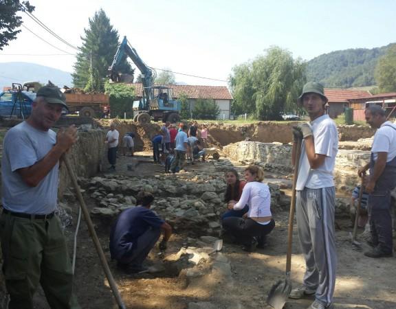 Arheološka istraživanja 2015 na lokalitetu Zadružni dom Skelani