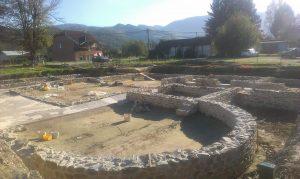 Arheoloska istrazivanja i radovi na konzervaciji ostataka Rimske carske palate na lokalitetu Zadružni dom 2014 godine (10)