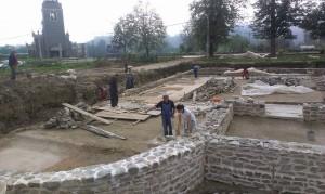 Arheoloska istrazivanja i radovi na konzervaciji ostataka Rimske carske palate na lokalitetu Zadružni dom 2014 godine (2)