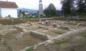Arheoloska istrazivanja i radovi na konzervaciji ostataka Rimske carske palate na lokalitetu Zadružni dom 2014 godine (3)