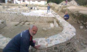 Arheoloska istrazivanja i radovi na konzervaciji ostataka Rimske carske palate na lokalitetu Zadružni dom 2014 godine