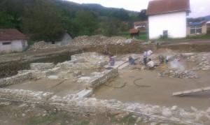 Arheoloska istrazivanja i radovi na konzervaciji ostataka Rimske carske palate na lokalitetu Zadružni dom 2014 godine (4)
