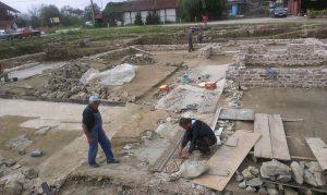 Arheoloska istrazivanja i radovi na konzervaciji ostataka Rimske carske palate na lokalitetu Zadružni dom 2014 godine (9)