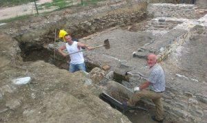 Nastavak radova na arheološkim istraživanjim na kolalitetu Zadružni dom u Skelanima 2015 (6)