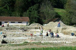 Radovi na konzervaciji na Arheološkom lokaliteru Zadružni dom u Skelanima 2014 (1)