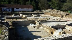 Radovi na konzervaciji na Arheološkom lokaliteru Zadružni dom u Skelanima 2014 13