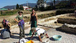 Radovi na konzervaciji na Arheološkom lokaliteru Zadružni dom u Skelanima 2014 (5)