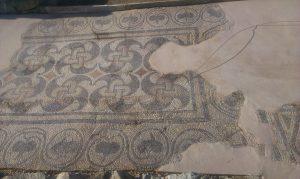 konzervacja mozaika na lokalitetu Zadruzni dom u Skelanima 2014 (6)