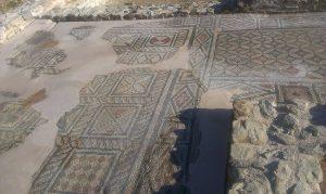 konzervacja mozaika na lokalitetu Zadruzni dom u Skelanima 2014 a