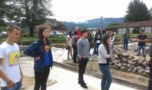posjeta arheološkom lokalitetu u Skelanima, omladine iz multietničko i multinacionalnog Kampa iz BiH  mira na jezeru Parućac koji se odžava svake godine