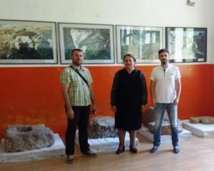 posjeta arheologa iz Gradiške i direkora Turistike organizacije Derventa Damir Kljajić